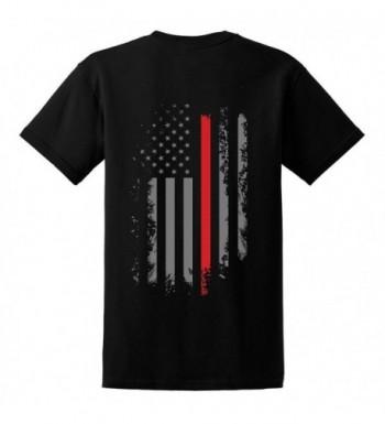 GunShowTees Firefighter American Shirt Large