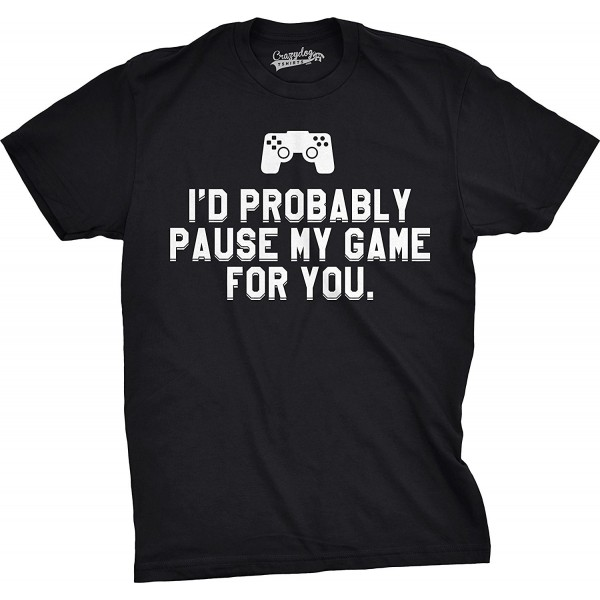 Crazy Dog T Shirts Probably Gaming