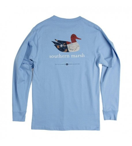 Southern Marsh Collection LS NC Breaker Blue large