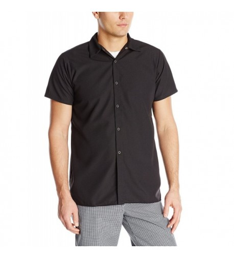 Chef DesignsSpun Shirt Black Sleeve