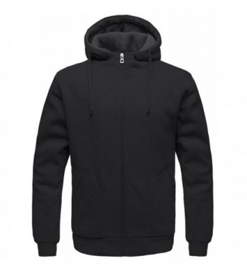Wantdo Sweatshirt Sherpa Hooded Cotton