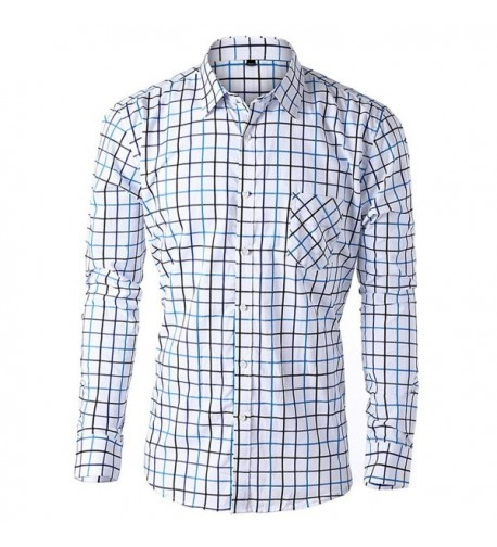JEETOO Sleeve Stripe Button Collar