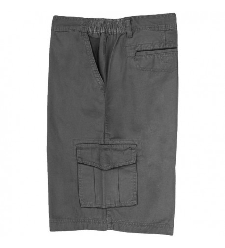 Full Blue Cargo Shorts Expandable