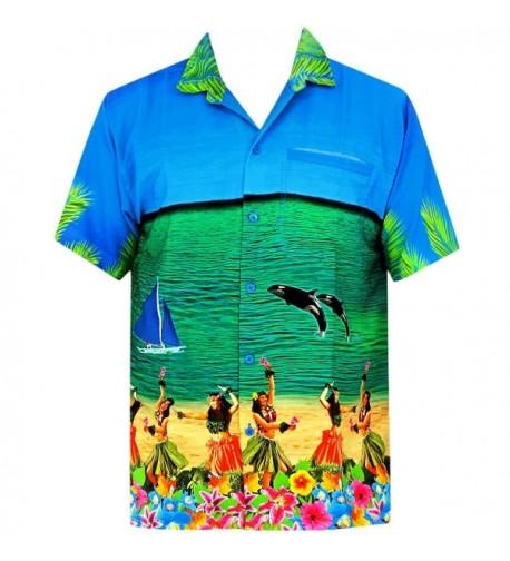 Leela Hawaiian Tropical Father Sleeves
