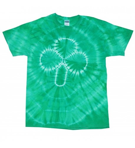 Colortone Tie Dye T Shirt Shamrock