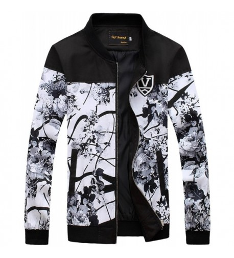 QZUnique Fashion Printing Jacket Sleeve