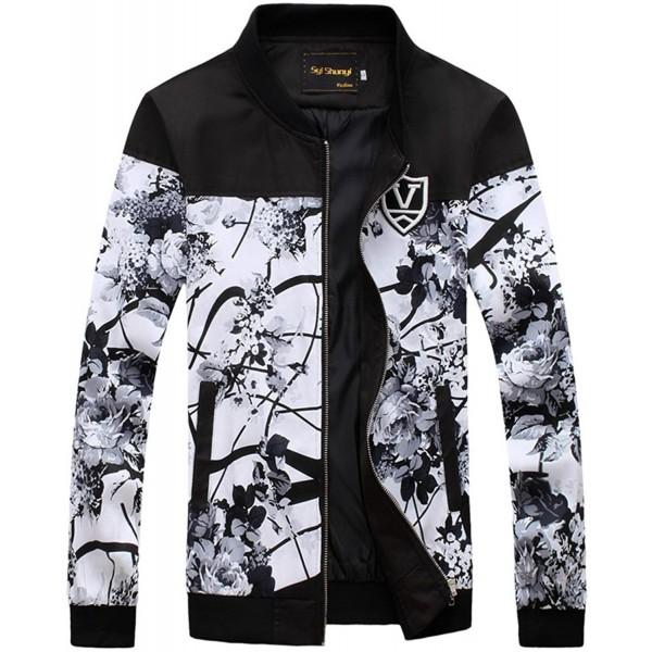 QZUnique Fashion Printing Jacket Sleeve