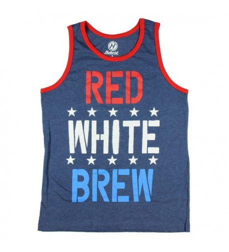 White Brew Graphic Tank Small