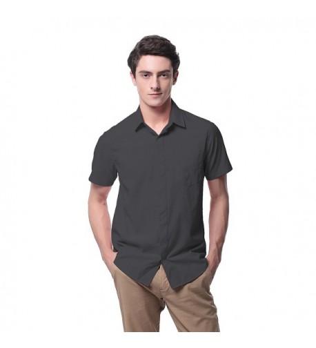 Pau1Hami1ton Regular Fit Sleeve Button Shirts
