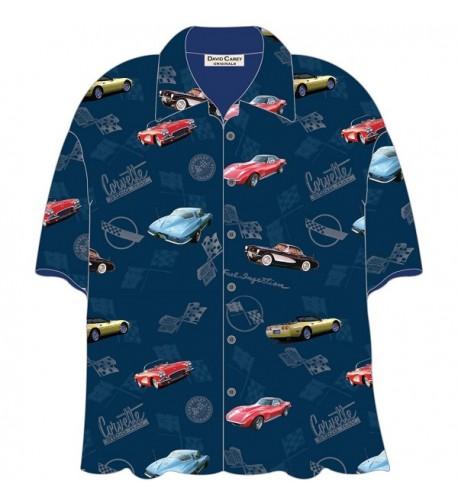 Corvette Hawaiian Shirt David Carey