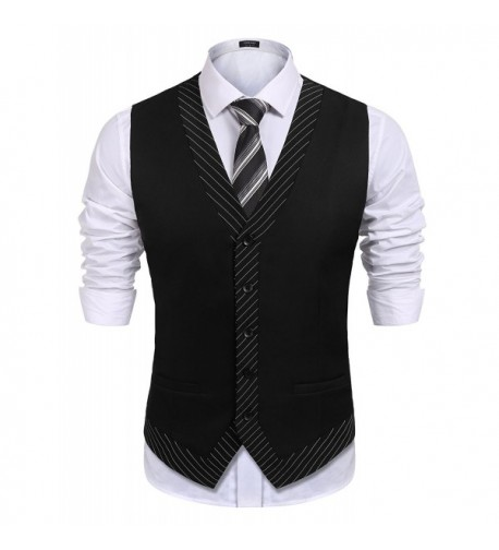COOFANDY Business Graduation Casual Waistcoat