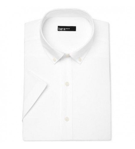 Bar III Cotton Button Down Shirt