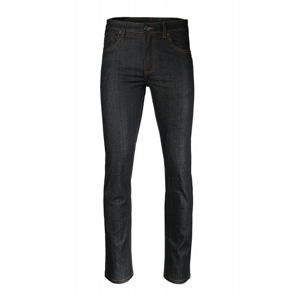 ZIMEGO Skinny Stretch Classic Pocket