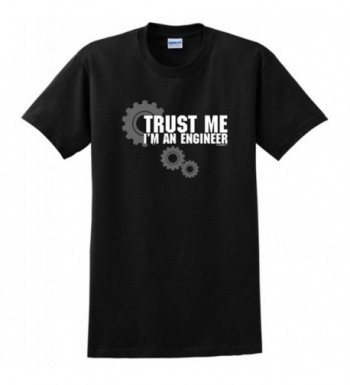 Trust Me Engineer T Shirt Black