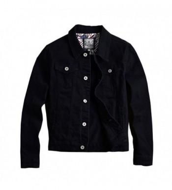 RongYue Jacket Classic Button Trucker