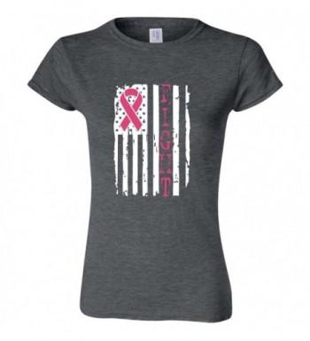 Breast Cancer Awareness T Shirt Heather