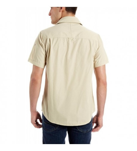 Craghoppers Short Sleeve Shirt Oatmeal Medium