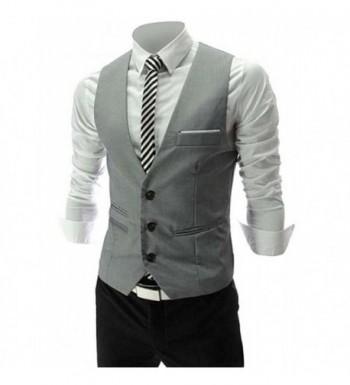PXS V Neck Sleeveless Business Waistcoat
