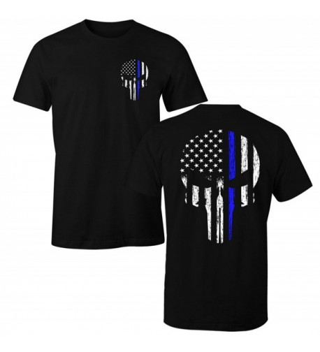 Fantastic Tees Police Skull Shirt