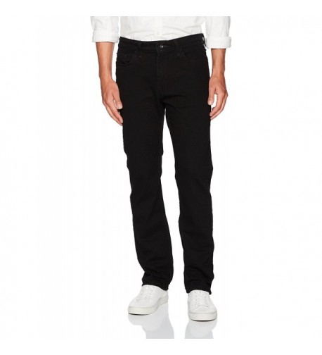 Nautica Mens Straight Jean Black