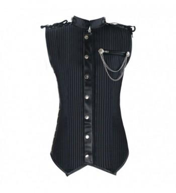 Charmian Spiral Victorian Steampunk Waistcoat
