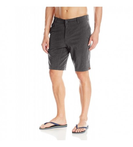 HippyTree Mens Ranger Shorts Asphalt