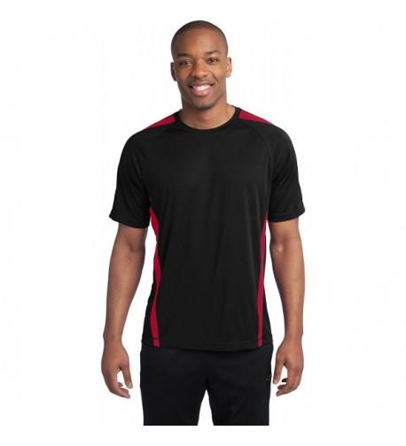 Sport Tek Athletic Shirts Black Medium