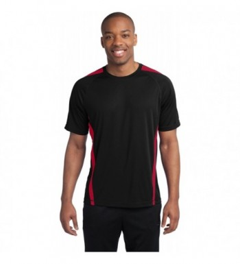 Sport Tek Athletic Shirts Black Medium