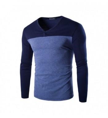 Allegra V Neck Color Sleeves T shirt