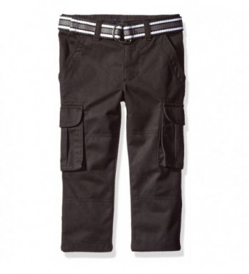 French Toast Belted Cargo Black