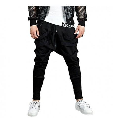 Hsumonre Joggers Drawstring Sweatpants Trousers