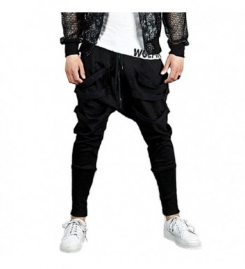 Hsumonre Joggers Drawstring Sweatpants Trousers