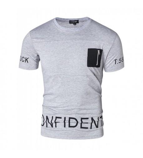 CT HF Collar Casual T Shirt