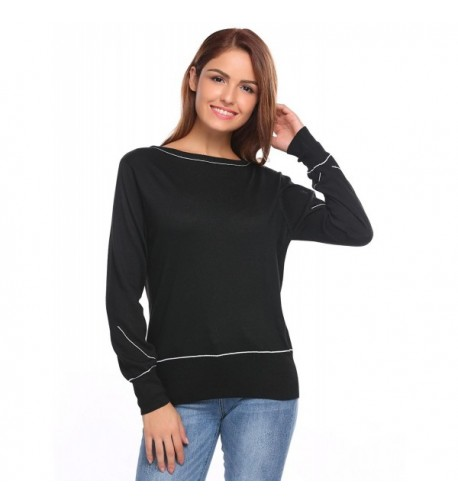 Soteer Womens Pullover Sweaters Lightweight