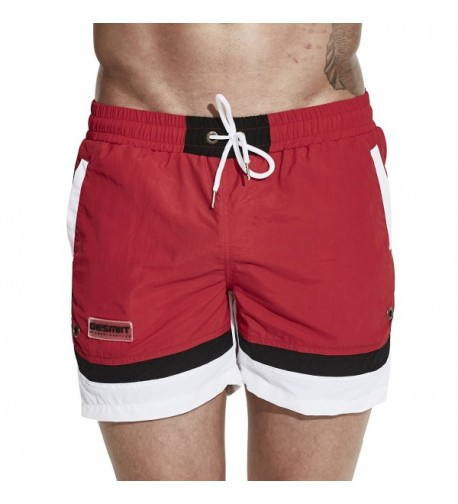 Trunks Quick Shorts Swimsuit Pockets
