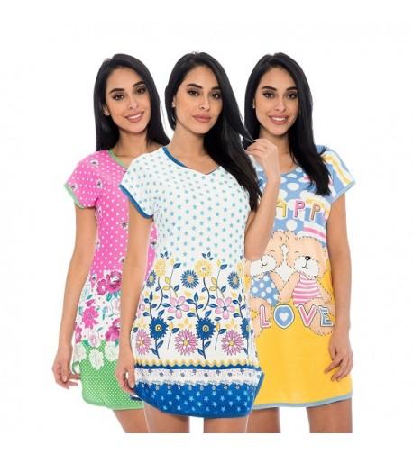 Unique Styles Nightshirt Juniors Nightgown