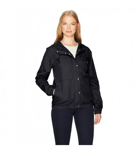 Volcom Juniors Hooded Windbreaker Jacket