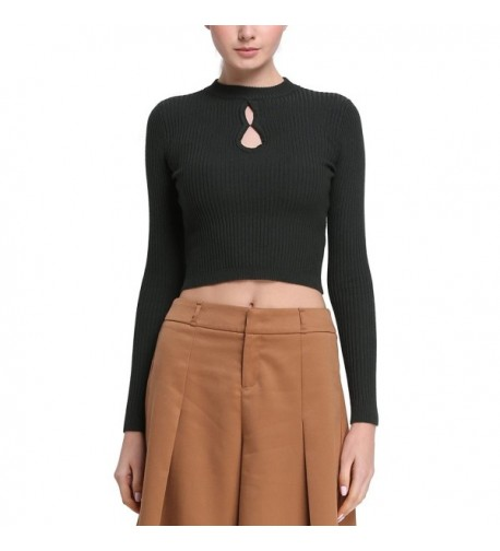Rocorose Keyhold Strentch Sweaters 612801030S
