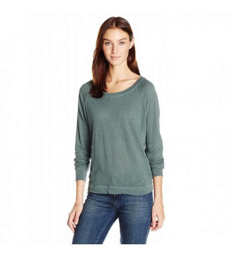Alternative Womens Slouchy Pullover Dusty