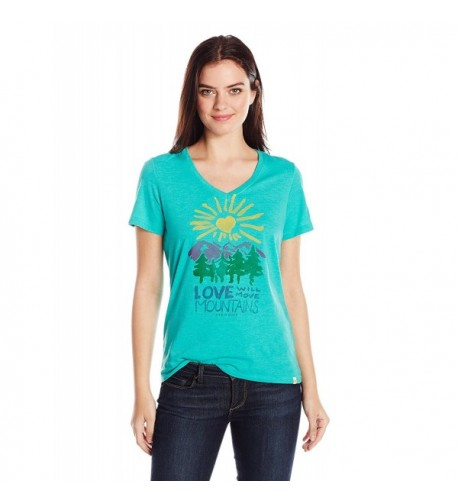 Life Womens Mountains Bright Large