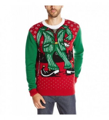 Ugly Christmas Sweater Light Up Cayenne