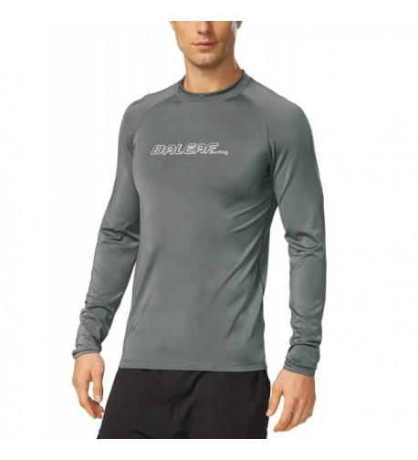 Baleaf Mens Sleeve Shirt Rashguard