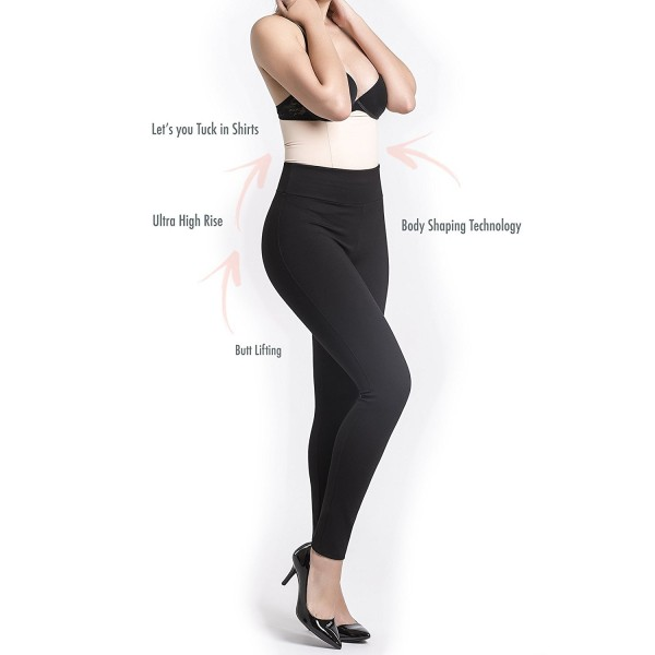 2800c0f89b Women high waist tummy control leggings pants with firm jpg 600x600 High  waisted shapewear leggings