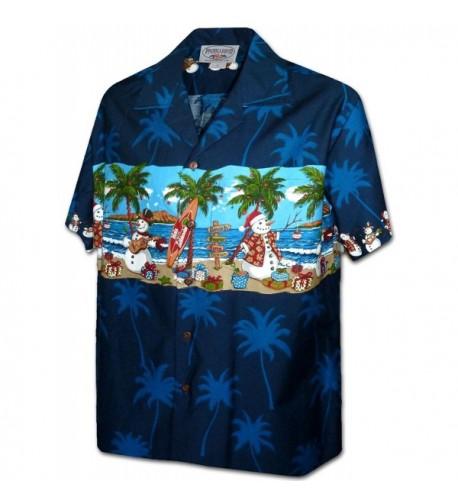 Hawaii Beach Snowmen Christmas 3958 NAVY XL