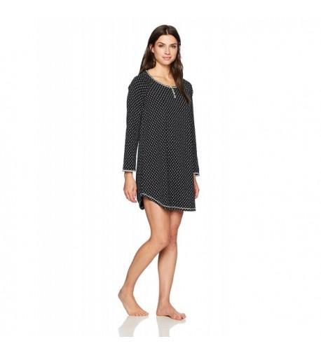 Karen Neuburger Womens Nightshirt Nightgown