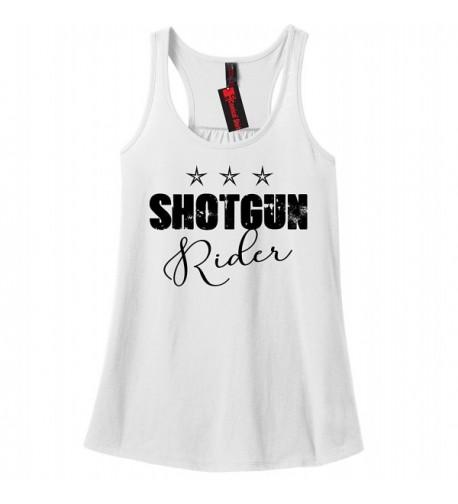 Comical Shirt Ladies Shotgun Rider