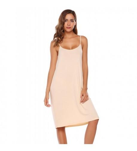 BEAUTYTALK Sleepwear Nightgown Chemises Apricot_XXL