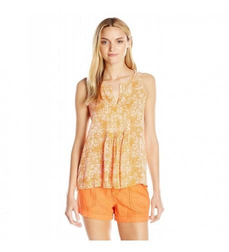 Sanctuary Clothing Womens Orange Gingham