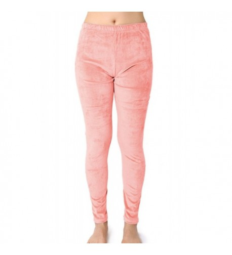 Juniors Velour Stretchy Casual Skinny