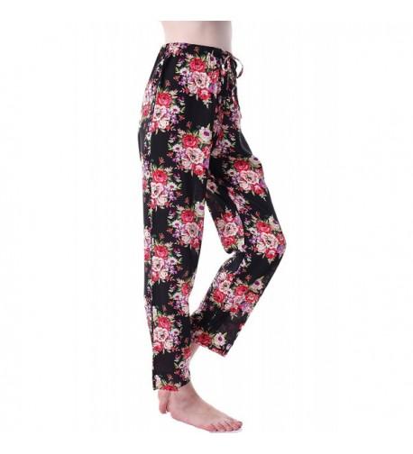 Womens Floral Pajamas Cotton Bridesmaid